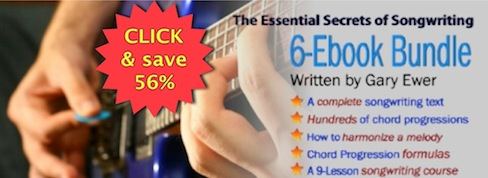 """The Essential Secrets of Songwriting"" ebook bundle"